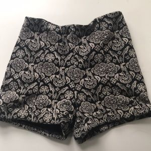 Abercrombie kids high waisted shorts